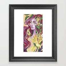 Canary Framed Art Print