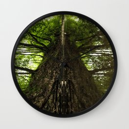 Creekside Reflection Wall Clock