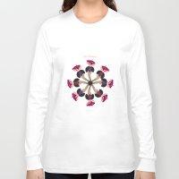 burlesque Long Sleeve T-shirts featuring Love Burlesque! by Sabi Koz