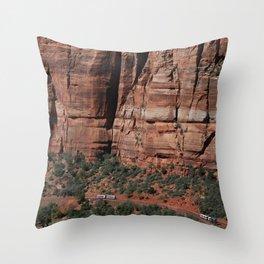 Zion Shuttle Throw Pillow