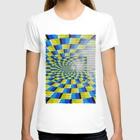 holographic T-shirts featuring Radial Structure by Anya Campbell by BohemianBound