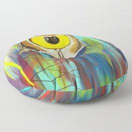 Spirit Animal Sight: Owl Floor Pillow
