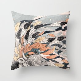 Magic Breeze Throw Pillow