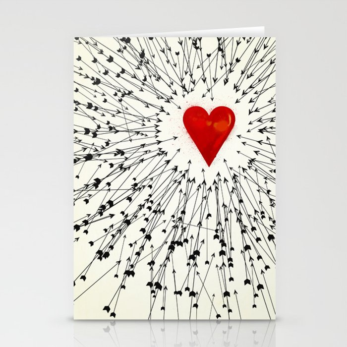 Heart&Arrows Stationery Cards