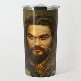 Jason Momoa - replaceface Travel Mug