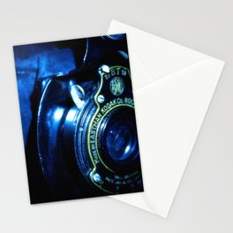 Capturing Yesteryear a vintage Kodak folding camera photograph Stationery Cards