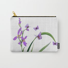Butterflies and flowers Carry-All Pouch