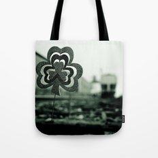 Railway shamrock Tote Bag