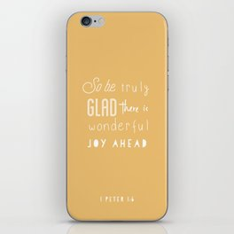 1 Peter 1:6 iPhone Skin