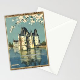 Normandy 01 - Vintage Poster Stationery Cards