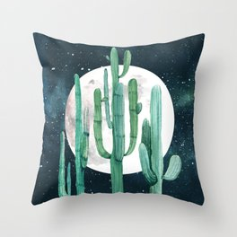 Desert Nights 2 Throw Pillow