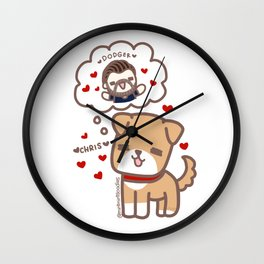 Happy Dodger Wall Clock