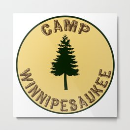 Camp Winnipesaukee Metal Print