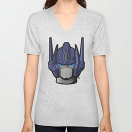 G1 Optimus prime Unisex V-Neck