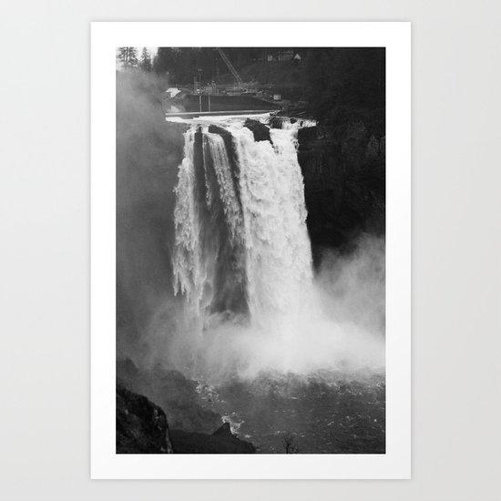 Snoqualmie Falls, WA Art Print