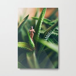 Soft Touch Metal Print