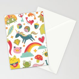 Lucky Charm Stationery Cards