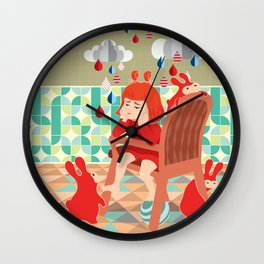 A Day To Idle And Daydream Wall Clock