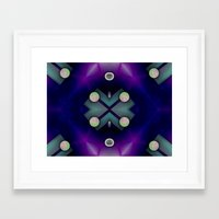 planets Framed Art Prints featuring Planets by Digital-Art