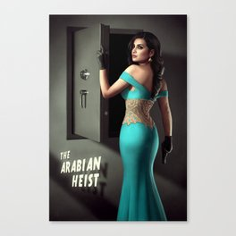 The Arabian Heist Canvas Print