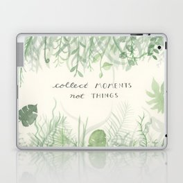Collect Moments foliage watercolor Laptop & iPad Skin