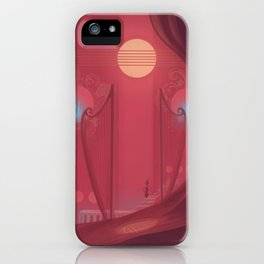 Sense the sounds iPhone Case