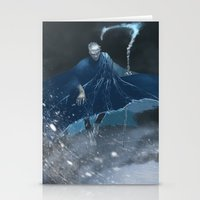 jack frost Stationery Cards featuring Jack Frost by vicious mongrel