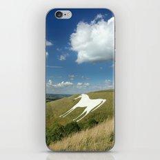 White Horses iPhone & iPod Skin