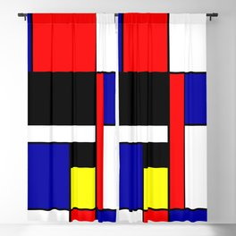 Mondrian #70 Blackout Curtain