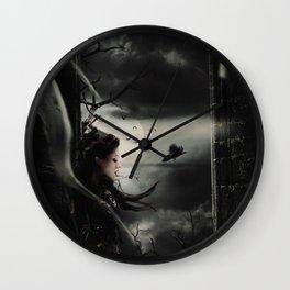 Halloween Queen 2 Wall Clock