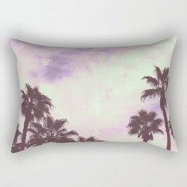 Palm Trees Over Vegas Rectangular Pillow
