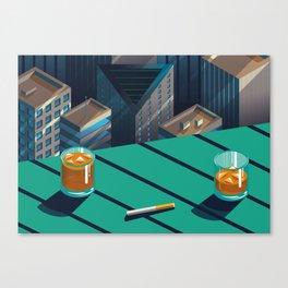 Bistro Canvas Print