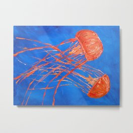 Dance of the Sea 3 Metal Print