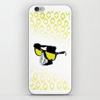 marx iPhone & iPod Skins featuring Groucho Marx by Michelle Eatough
