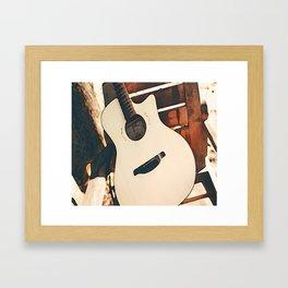 Acoustic Guitar Framed Art Print