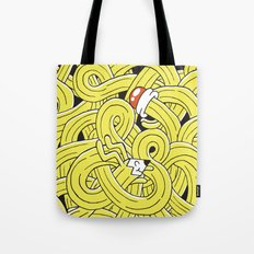 Pencil Pup Tote Bag