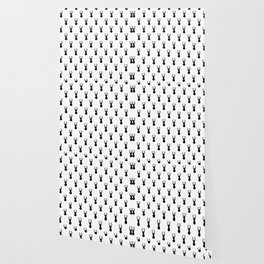 Deer, Minimal, Scandinavian, Abstract, Pattern, Modern art Wallpaper