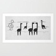 We Can Make Music Art Print