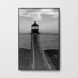 Lighthouse - 3 Metal Print