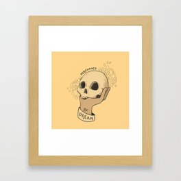to sleep Framed Art Print