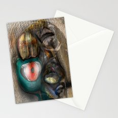 Concentric Deviations Stationery Cards