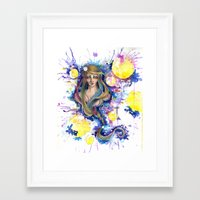 fairy tail Framed Art Prints featuring Fairy Tail by MichaelMaltese