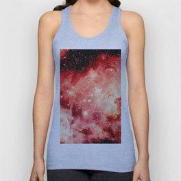 Red Carina Nebula Unisex Tank Top