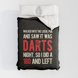 Funny Darts Sport Comforters