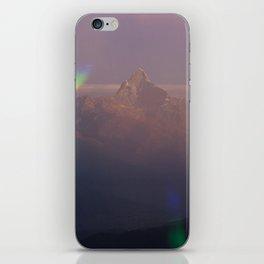 The Machapuchare Shine iPhone Skin