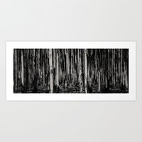 forrest Art Prints featuring Forrest  by Komorebi Photographics
