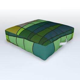 Green Pattern Turtle Outdoor Floor Cushion