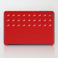 reindeer iPad Cases featuring Reindeer by elyinspira