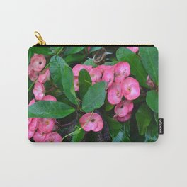 Bali Flowers Carry-All Pouch