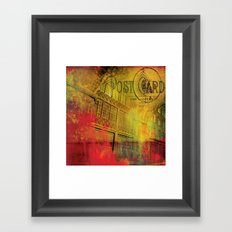 Edinburgh nights Framed Art Print